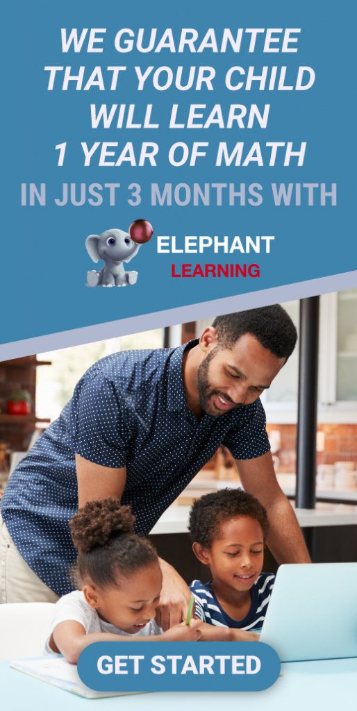 Elephant Learning Math App